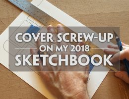 Sketchbook Cover Video 2018